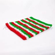 Christmas Crochet Tube Top 9 inches